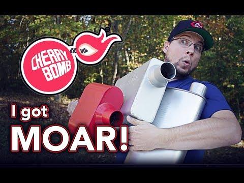 Comparing Popular Cherry Bomb® Mufflers - Glasspack, Turbo, Vortex & Extreme