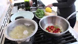 Tomato Arugula Pasta