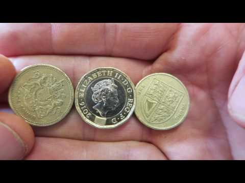 New Pound Coin - 12 sided £1 Coin's Design + Dimensions