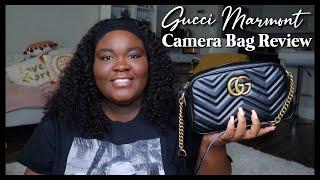 Gucci Marmont Small Matelassé Shoulder Bag Review
