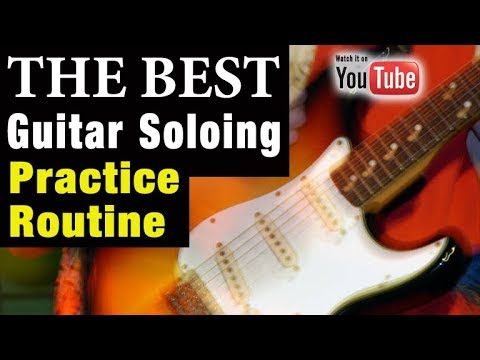 Discover the Best Way to Practice Guitar Soloing