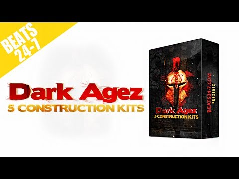 Epic Trap Beat Construction Kits - Dark Agez