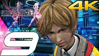Final Fantasy XIII-2 - Gameplay Walkthrough Part 9 - Augusta Tower -200 AF [4K 60FPS]