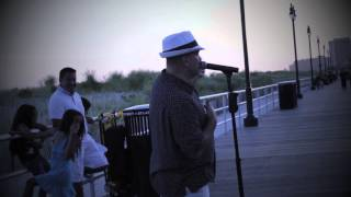 Steve Anthony- The Way You Look Tonight (Frank Sinatra) Cover on Atlantic City Boardwalk