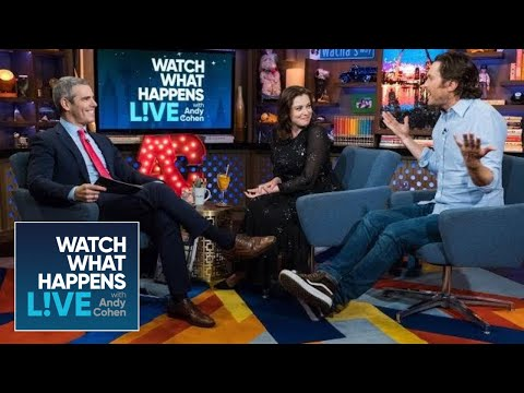 Oliver Hudson On Reconnecting With His Dad  WWHL