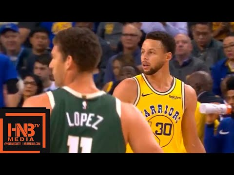 Golden State Warriors vs Milwaukee Bucks 1st Qtr Highlights   11.08.2018, NBA Season