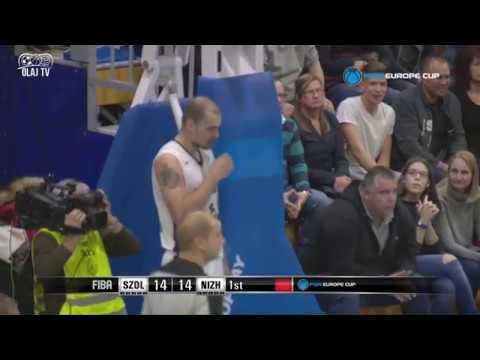 Szolnoki Olaj KK - Nizhny Novgorod FIBA EuroCup 2017. 11. 01.