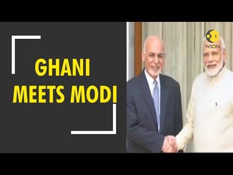 Breaking News: Afghan president Ashraf Ghani meets PM Modi