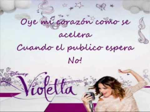 Violetta - Alcancemos Las Estrellas - Karaoke