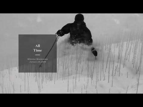 All Time - Whistler Blackcomb - Jan 21, 2018