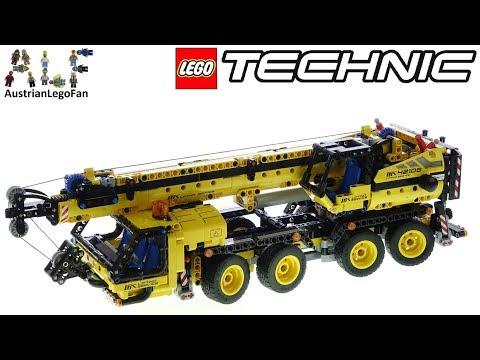 LEGO Technic 42108 Mobile Crane - Lego Speed Build Review