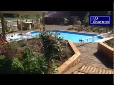 Westminster Premium Wooden Pool Project By Panache Pools Youtube