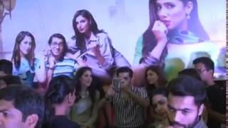 MAHIRA KHAN at EMPORIUM MALL For promotion new Movie 7 din Muhabbat IN