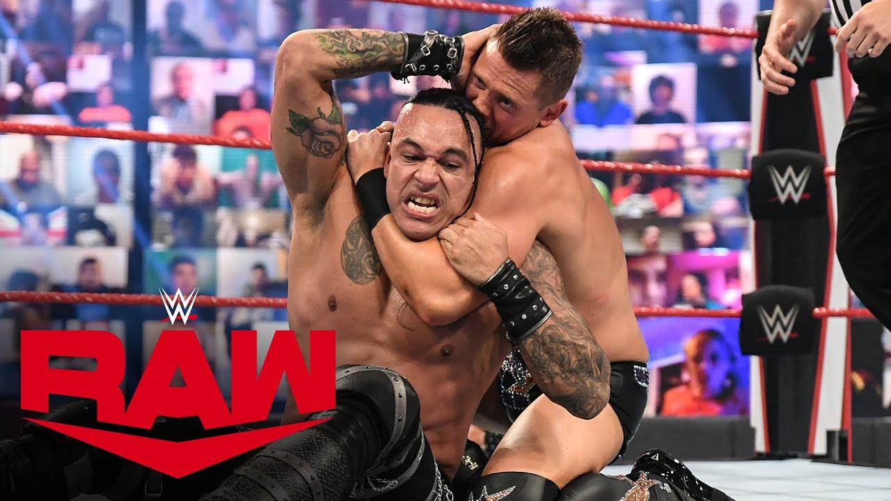 Damian Priest vs. The Miz: Raw, April 19, 2021