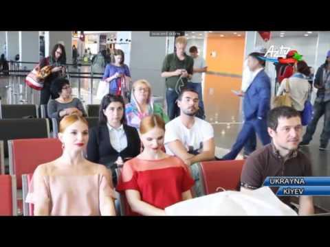Kiyev Beynəlxalq Hava Limanında Azərbaycan mədəniyyət günü keçirilib