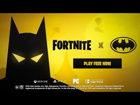 FORTNITE x BATMAN - Official Reveal