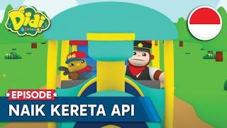 Naik Kereta Api | Didi Naik Kereta Api | Lagu Anak Indonesia | Didi & Friends Indonesia