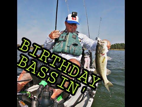 Birthday Bassin' Lake Bastrop