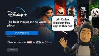 Let's Explore the Disney Plus App on Xbox One!