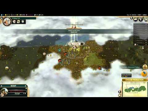 Wynn in Civilization 5 Zulu Campaign (1): Zulu Time!