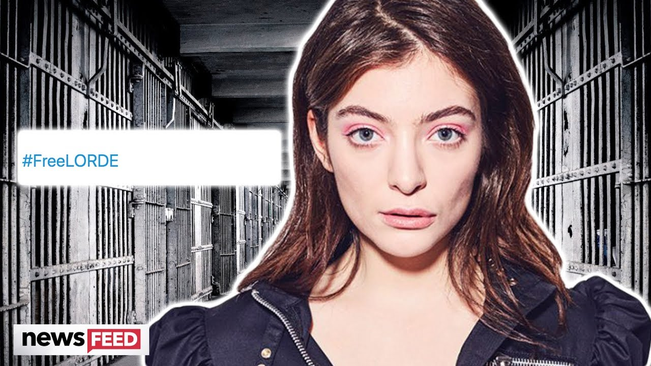 Lorde Faces Possible Jail Time & Twitter Makes #FreeLorde Trend!