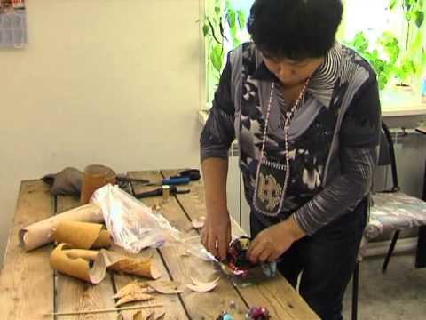 01 16 реп плетение циновок мастер класс Аган