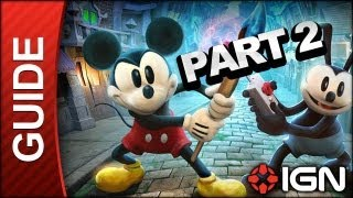 Disney's Epic Mickey 2: The Power of Two Walkthrough Part 2 - The Castle