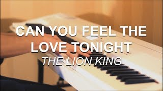 Joel Sandberg - Can You Feel the Love Tonight (The Lion King) Piano Cover + Free Sheet Music