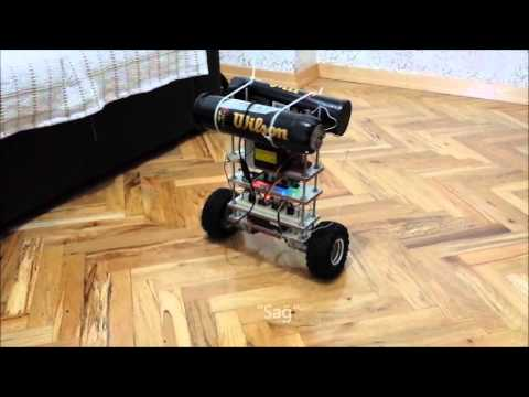 Self balancing robot kalman filter