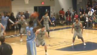 Andrew Wiggins Alley Oop Dunk vs. Alice Lloyd College