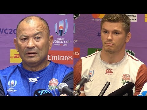 Eddie Jones, Owen Farrell - Press Conference Pre RWC19 Semi | Rugby News | RugbyPass