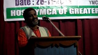 Dr. Chilkuri Vasantha Rao at South East Region of YMCAs Youth Assembly, 28.11.2013
