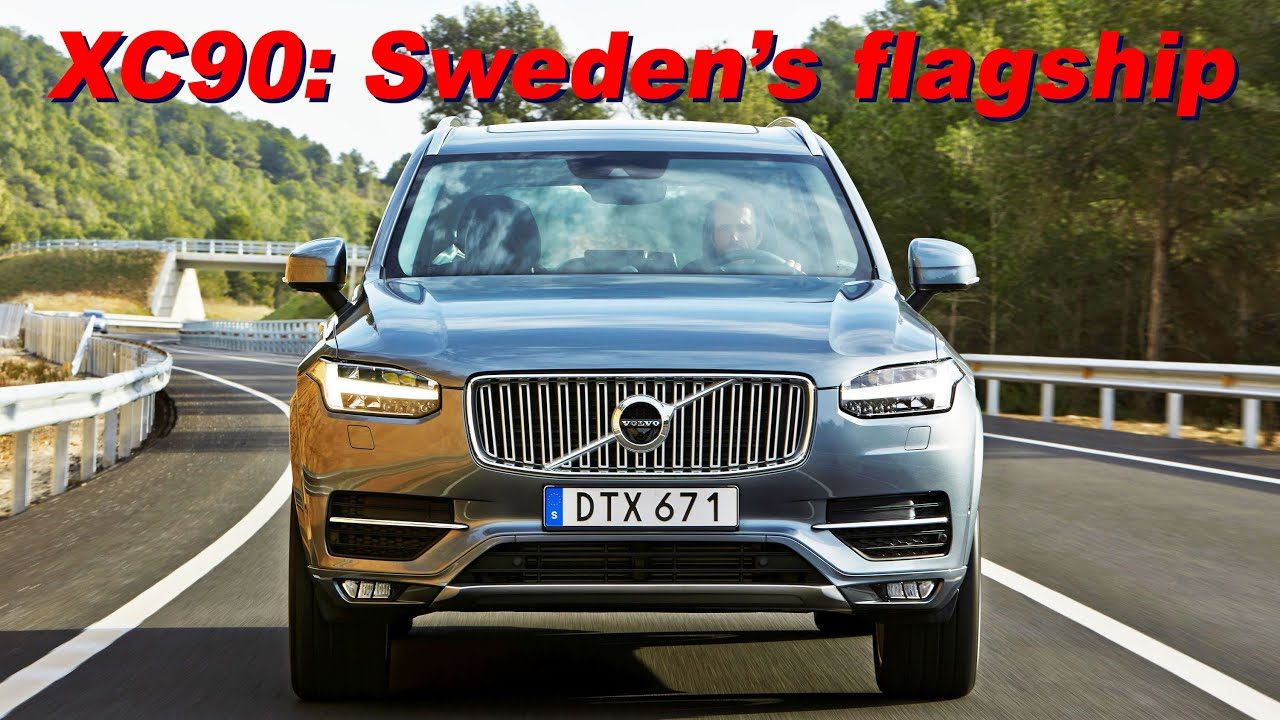 2016 Volvo Xc90 Review In 4k Test Drive Interior Detail