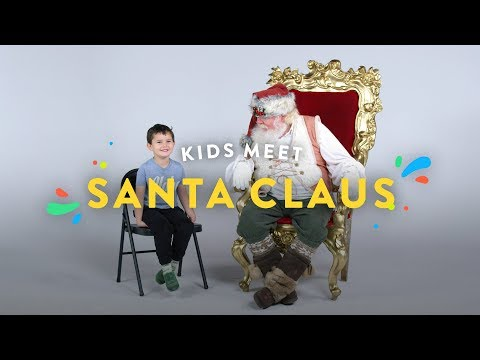 Kids Meet the REAL Santa Claus!! | Kids Meet | HiHo Kids