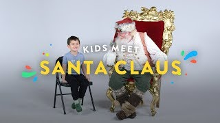 Kids Meet the REAL Santa Claus!! | Kids Meet | HiHo Kids