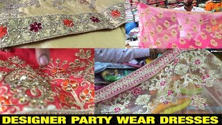 Designer party wear dresses  -  # Madina \\ wholesale and retail price