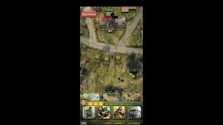 SIEGE: World War II (by Simutronics Corp) - strategy game for android and iOS - gameplay.