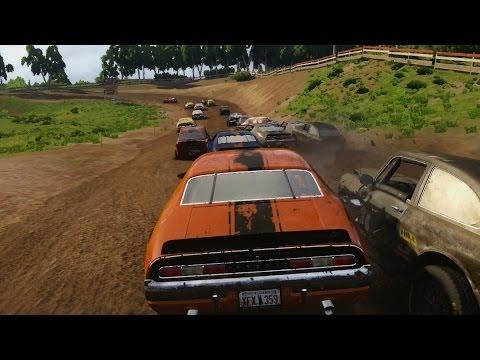 NEXT CAR GAME - Destruction Derby / Demolition Derby (Pre-Alpha Gameplay)
