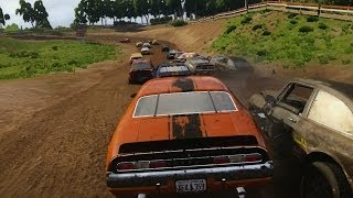 NEXT CAR GAME - Destruction Derby / Demolition Derby (Pre-Alpha Gameplay)