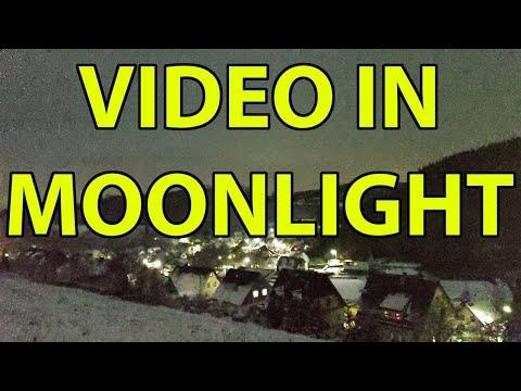 Google Pixel 3XL - Video On Moonlight - Camera Mod - ISO14.000