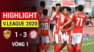 Highlight   Quang Nam vs TP Ho Chi Minh   Round 1 V.League 2020