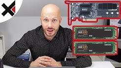 Das Problem mit dem Synology SSD Cache und Samsung m 2 SATA SSDs | iDomiX