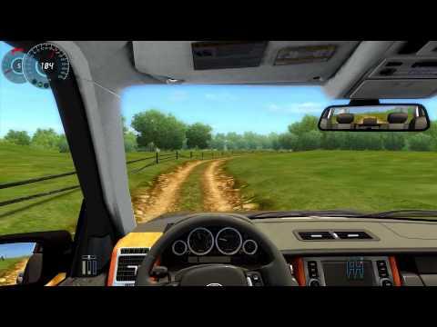 #015 Let's Play City Car Driving - Range_Rover_2008 [Deutsch] [Full-HD] MOD