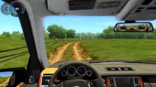 #015 Let's Play City Car Driving - Range_Rover_2008 [Deutsch] [Full-HD] MOD