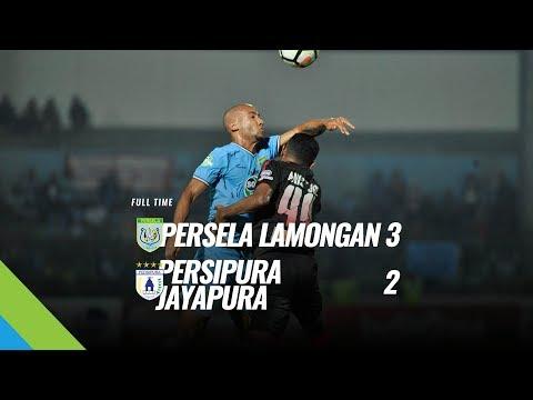 [Pekan 18] Cuplikan Pertandingan Persela Lamongan vs Persipura Jayapura, 29 Juli 2018