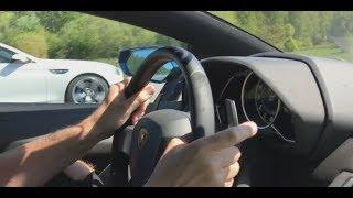 750+ HP Tuned F10 BMW M5 vs 700 HP Lamborghini Aventador LP700-4 [4k]