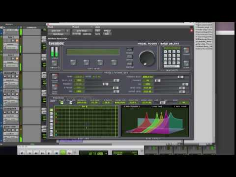 Eventide H3000 Band Delays Plug-In for ProTools TDM