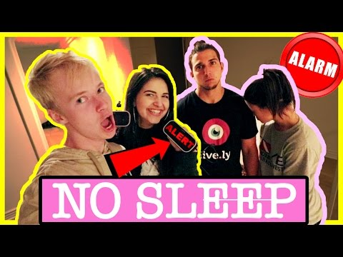 ALARM CLOCK PRANK (up all night) | COUPLE VS COUPLE