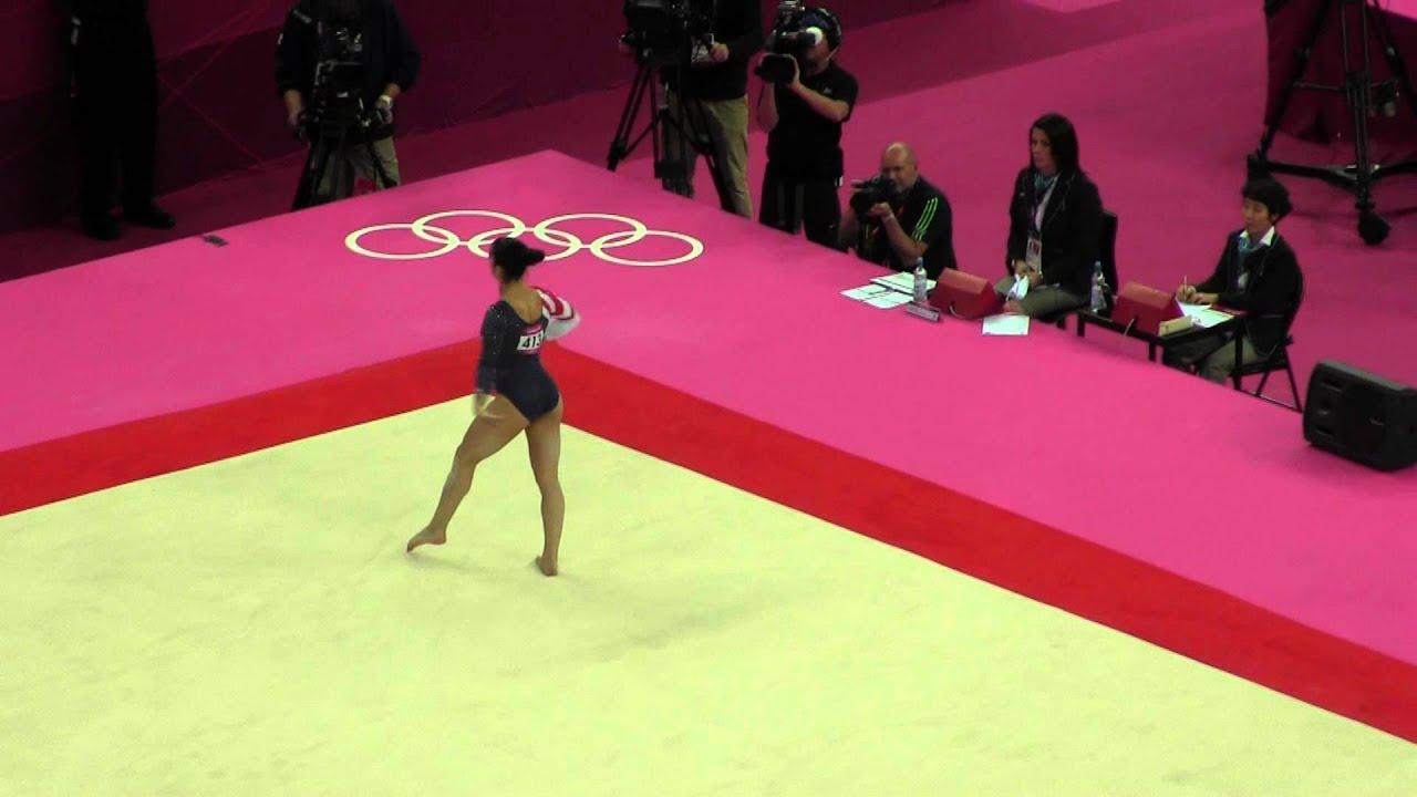 2012 Olympics Ef Aly Raisman Floor Youtube