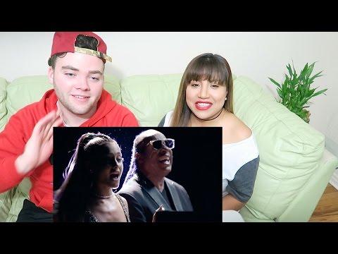 Stevie Wonder - Faith ft. Ariana Grande REACTION!!